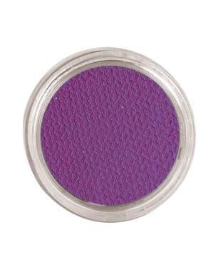 Maquillage à l'eau lila