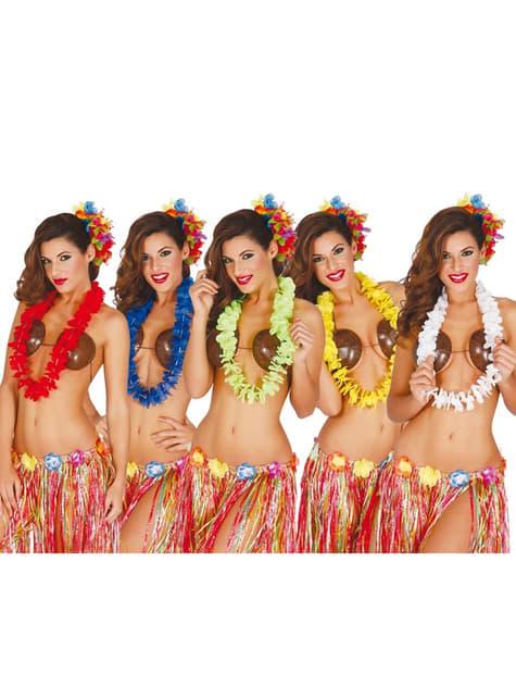 Collar hawaiano con estilo para mujer