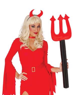 Devil inflatable pitchfork