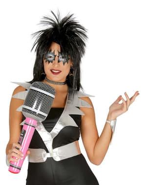 Microfono gonfiabile rocker