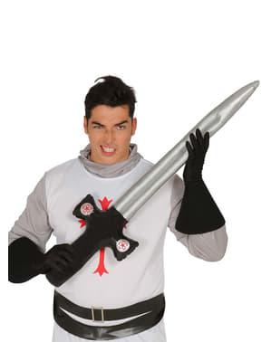 Espada de cavaleiro insuflável