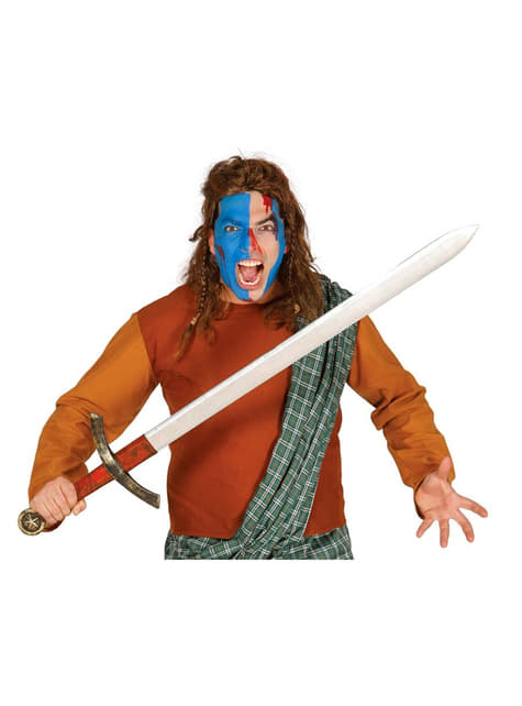 Espada medieval guerrera 120 cm