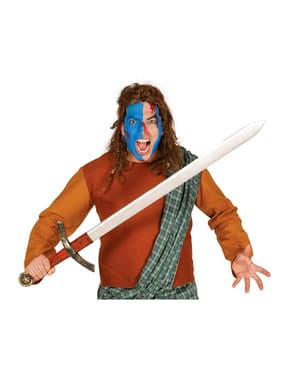Zwaard middeleeuwse strijder 120 cm