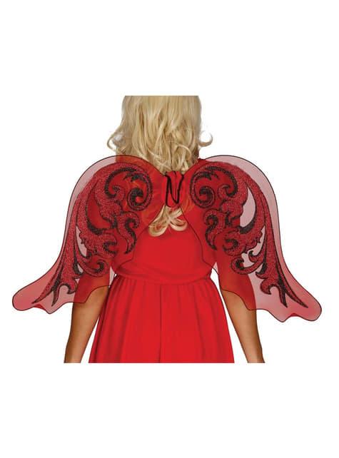 Andělská křídla červená