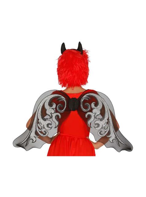 Andělská křídla černá