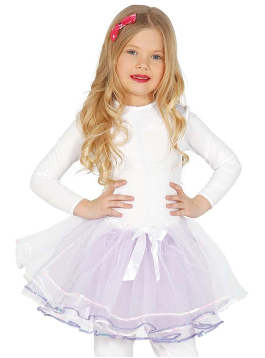 Dívčí spodnička bílá deluxe. Nejvíc cool  825677e91b