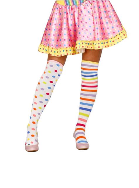 Ženske klaunske čarape