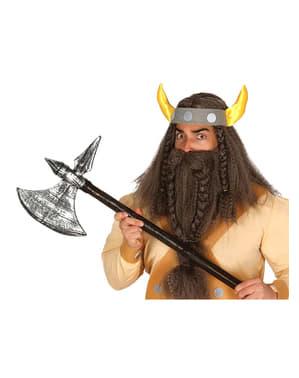 Hacha de bárbaro guerrero 83 cm