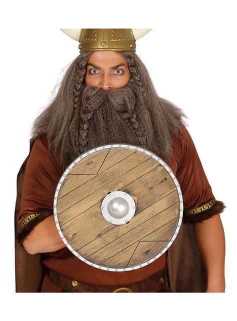 Escudo de vikingo guerrero 40 cm