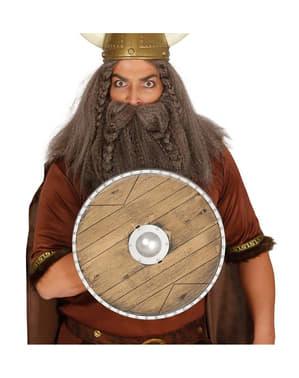 Escudo de viking guerreiro 40 cm