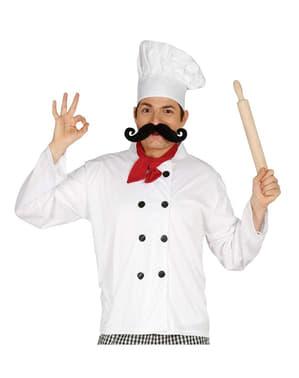 Conjunto Fantasia de cozinheiro para homem