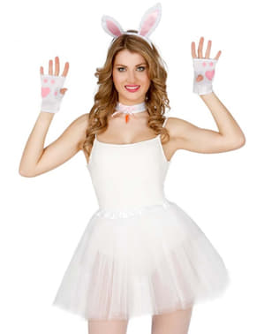 Kit disfraz de conejita para mujer