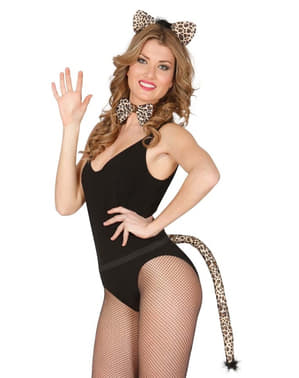 Kit disfraz de leoncita para mujer