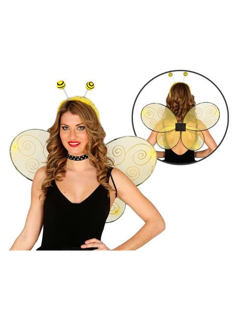 Alas de abeja para mujer