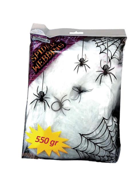 Bag of Spider Webs 550g
