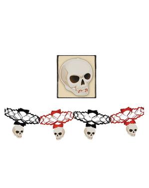 Skulls bunting