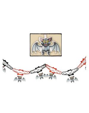 Guirnalda de murciélagos