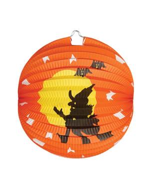 Lampion sorcière Halloween