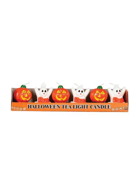 6 candele Halloween