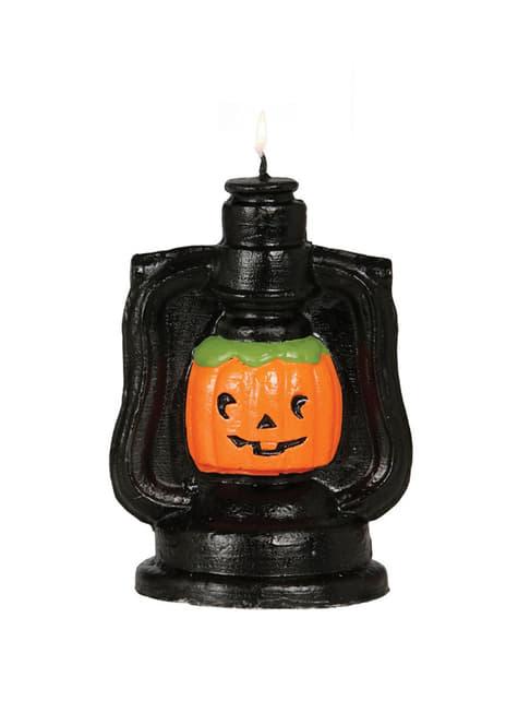 Bougie lampion halloween