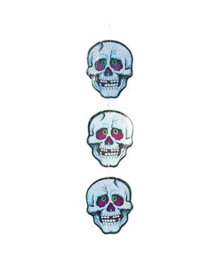 Têtes de mort décoration halloween