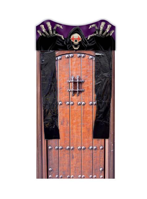 Cortina para porta de esqueleto com luz