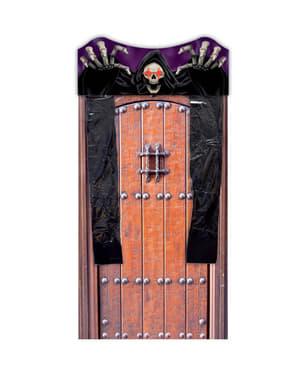 Tenda per la porta scheletro con luce