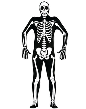 Second Skin Skeleton Costume for Adults