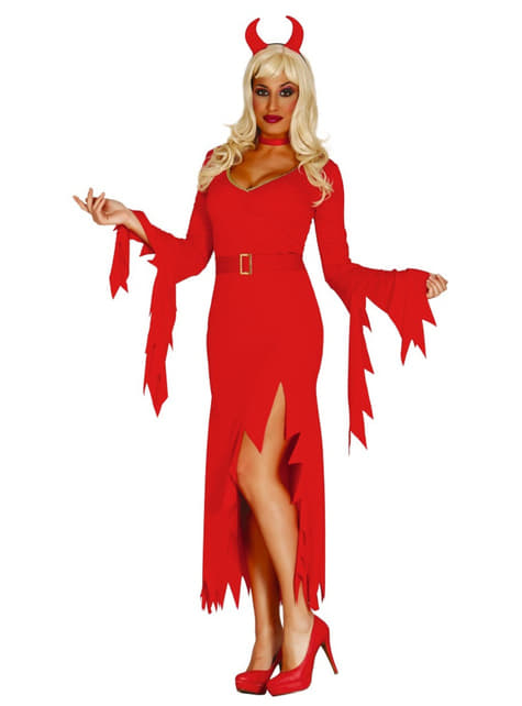 Fato de diabinha fashion para mulher