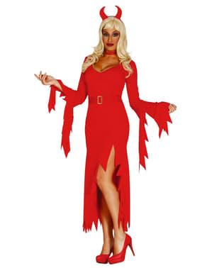 Bayan moda o şeytan kostüm