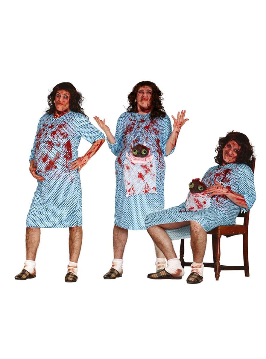 d guisement femme enceinte zombie homme funidelia. Black Bedroom Furniture Sets. Home Design Ideas