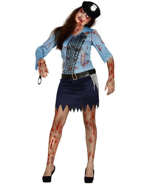 Zombie poliisiasu naiselle