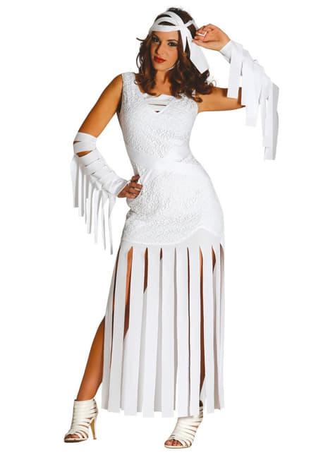 Disfraz de momia sensual para mujer
