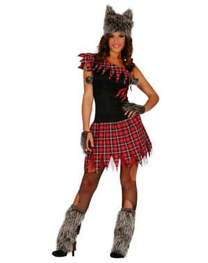 Дамски костюм за момиче върколак
