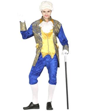 Pánský kostým markýz modrý