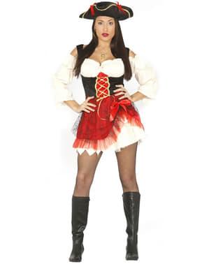 Sinnliches Piratin Kostüm für Damen