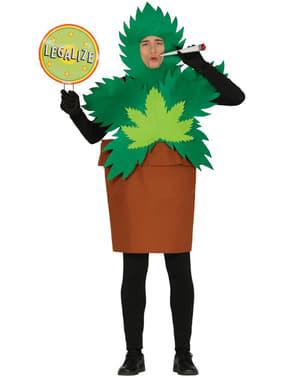 Déguisement plante cannabis homme