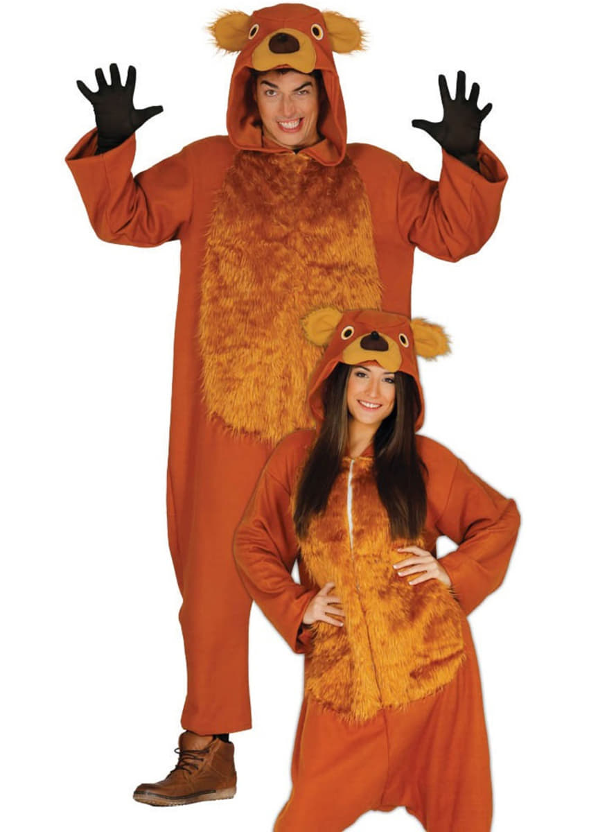 adults brown bear costume  the coolest