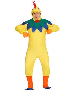 Mens noisy chicken costume