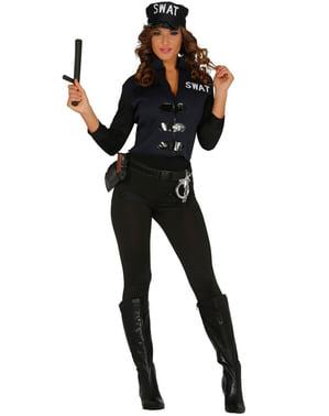 Секси дамски костюм на агент от SWAT
