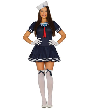 Blue Sailor Costume for Women
