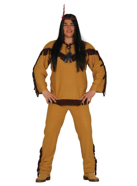 Mens Apache Indian costume