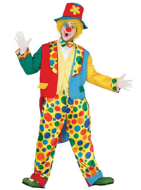 Mens elegant clown costume