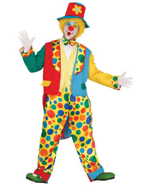 Mens elegant clown costume