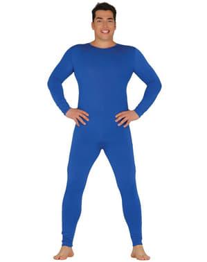 Чоловічий синій комбінезон