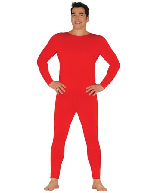 Strój kolor czerwony meski