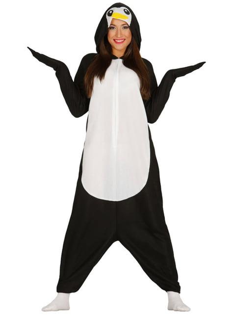レディース可愛らしいペンギンパジャマ衣装
