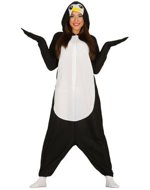 Pinguin Overall Kostüm für Damen