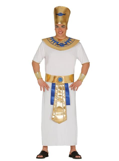 Χειροποίητο κοστούμι φαραώ χρυσού