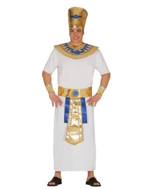 Disfraz de faraón dorado para hombre